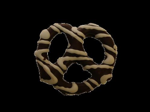 Dark Chocolate Pretzel Drizzled (Per Pound)