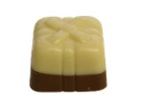 White Two Toned Truffle Gift Box (Per Pound)