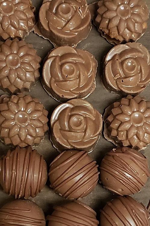 DAIRY CHOCOLATE TRUFFLES