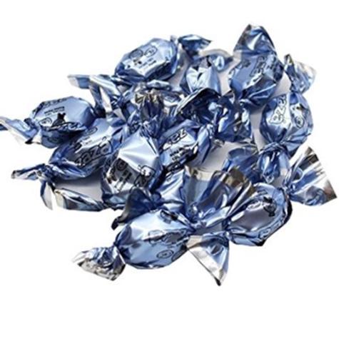 Blue Wrapped Zaza (Oval)