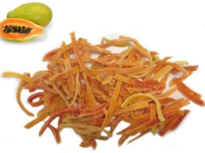 Multi-Colored Papaya Strips (Per Pound)