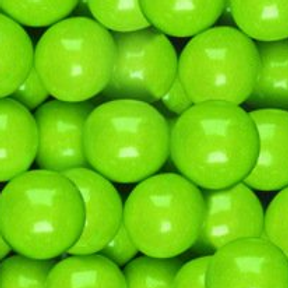 Lime Green Gumballs 1 Inch