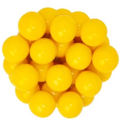 Yellow Gumballs 1 Inch