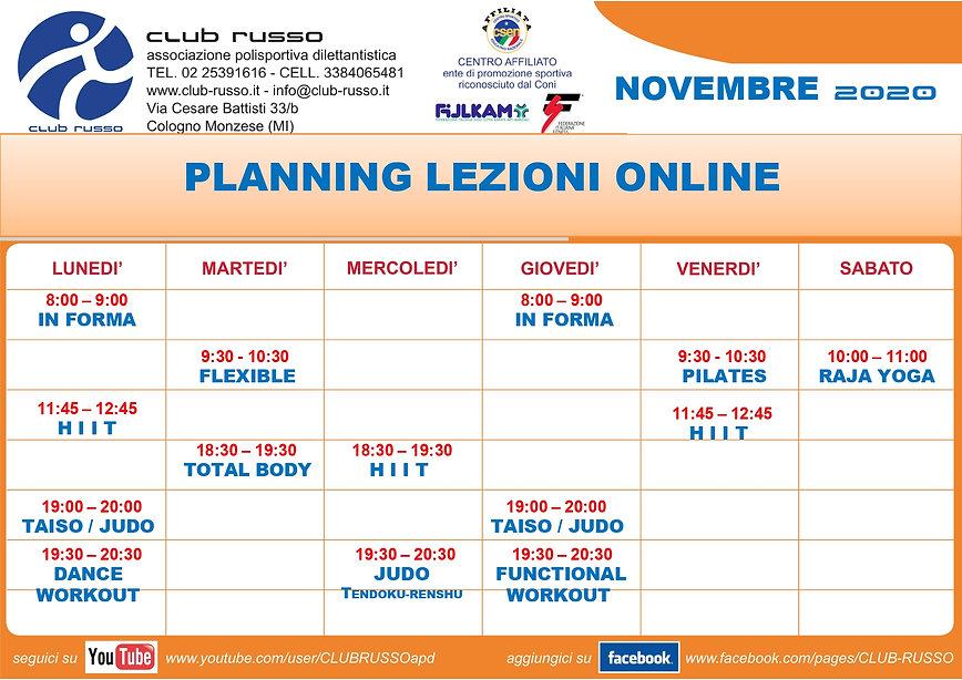Planning lezioni online novembre 2020_pa