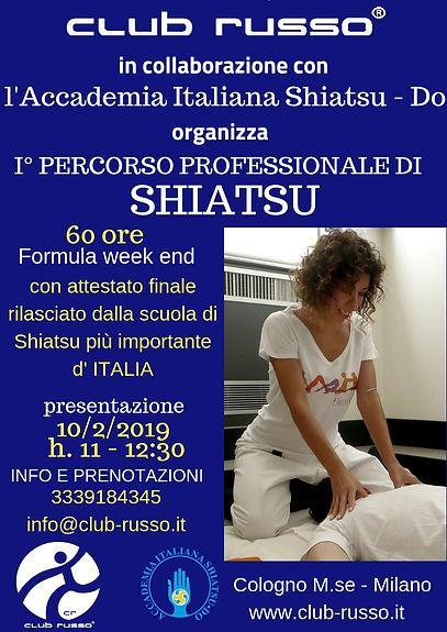 1 Percorso Professionale di Shiatsu 2019