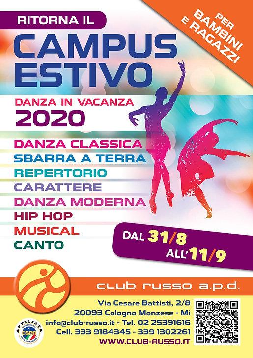 Campus Danza in Vacanza settembre 2020.j