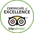 Sing's Beach Bar and Reastaurant Certificate of Excellence by tripadvisor