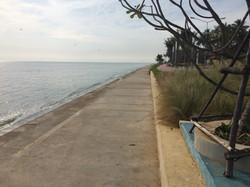 New beach arrangement since 2015