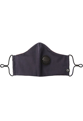 NAVY BLUE- Breathable Valve Face Mask