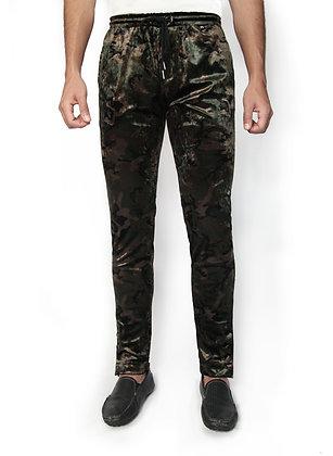 PANTALÓN TERCIOPELO CAMUFLAJE  / Camouflage Velvet Pants