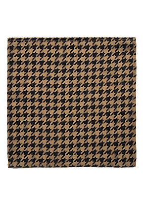 POLARIS SILK POCKET SQUARE