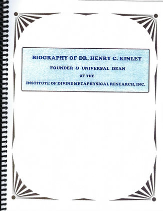 Biography of Dr. Henry C. Kinley