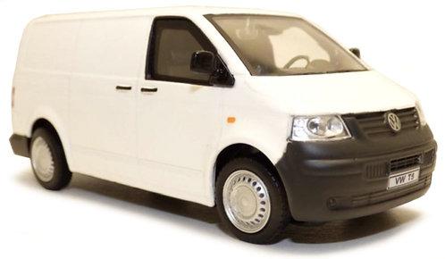 Cararama 1:43 Scale - VW T5 - White
