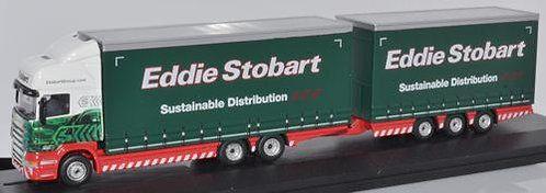 Oxford Diecast Scania Topline Drawbar - Eddie Stobart
