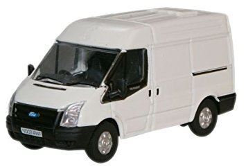 Oxford Diecast Ford Transit SWB- Frozen White