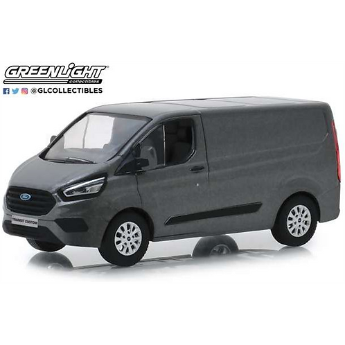 Greenlight 1:43 Scale - Transit Custom - Magnetic Grey