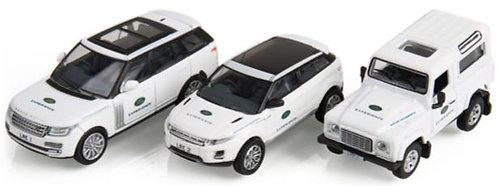 Oxford Diecast Land Rover Experience Gift Set - 3 Piece