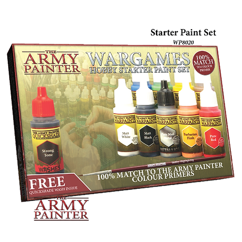 The Army Painter - Starter Paint Set
