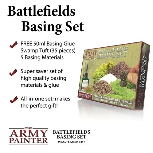 The Army Painter - Battlefield Basing Set