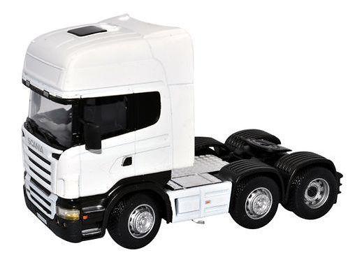 Cararama 1:50 Scale Scania Cab- Plain White