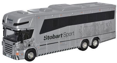 Oxford Diecast Scania HorseBox - Eddie Stobart Sport