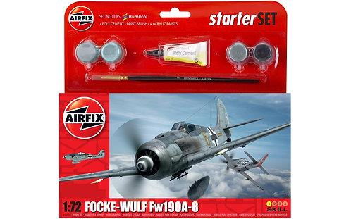 Airfix Starter Set - Focke-Wulf FW190A-8