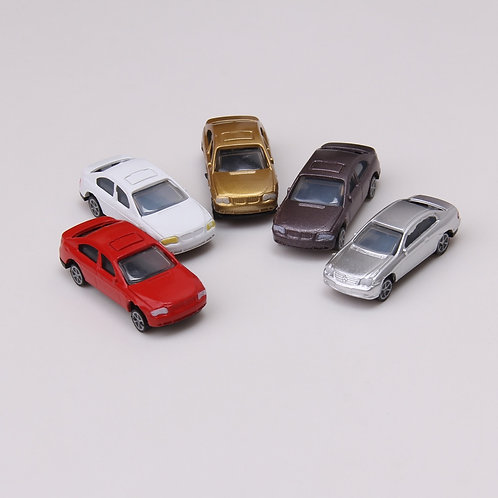 1:76/1:87 Scale Model Plastic Assorted Cars