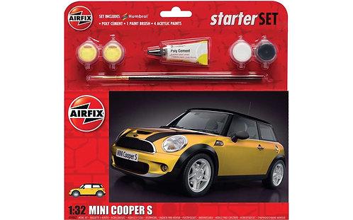 Airfix Large Starter Set - Mini Cooper S