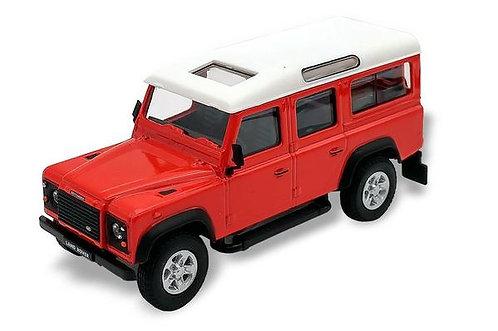 Cararama Land Rover Defender - Masai Red