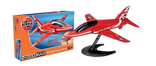 Airfix Quick-Build- RAF Red Arrows Hawk