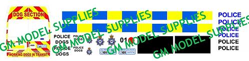 Transit LWB Conversion Kit- Dogs Unit Police Livery