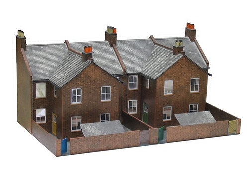 Superquick Model Card Kit - Terrace House Backs