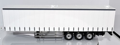Cararama 1:50 Scale Trailer- Plain White