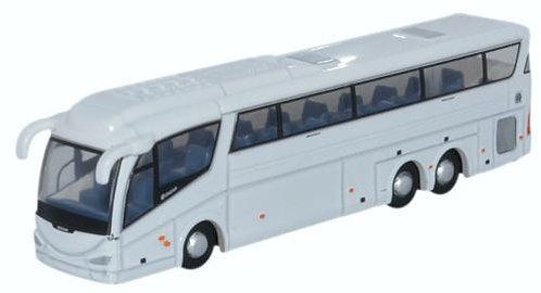 Oxford Diecast IRIZAR PB - Plain White Bus