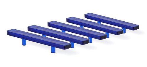 Model Light Bar Large Modern Flat Design- Blue