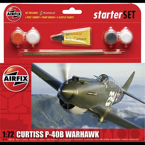 Airfix Starter Set - Curtiss Tomahawk IIB