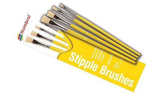 Humbrol Stipple Brush Set