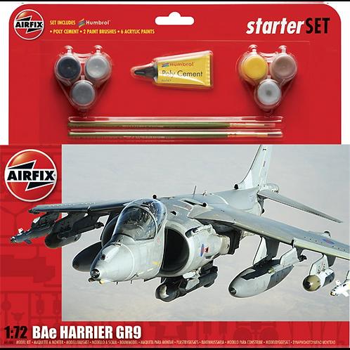 Airfix Large Starter Set - BAE Harrier GR9A