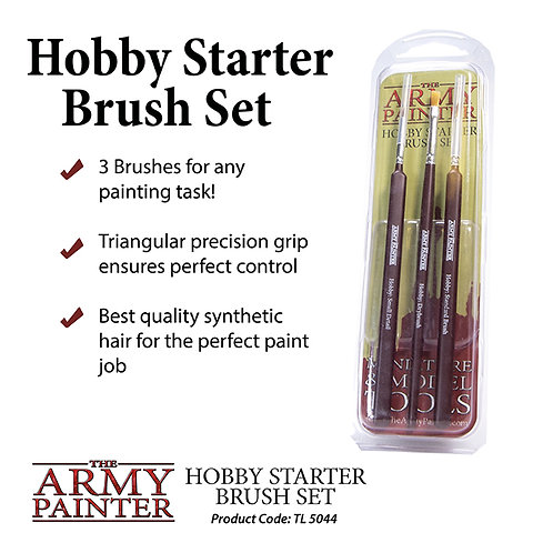 The Army Painter - Starter Brush Set