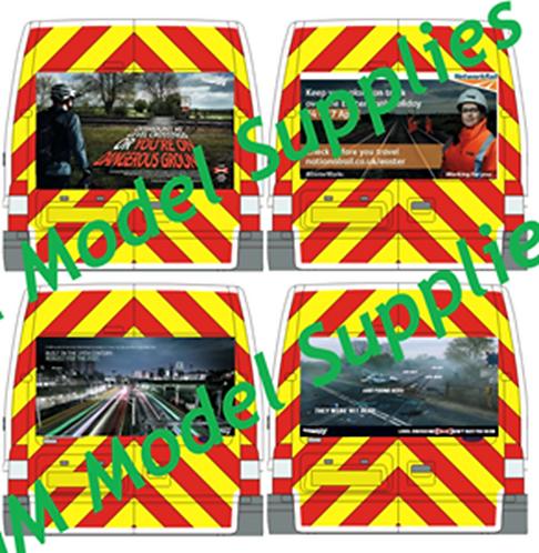 Transit SWB Rear Conversion Kit- Network Rail Campaigns