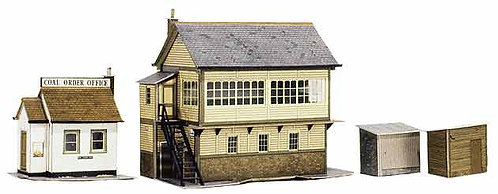 Superquick Model Card Kit - Signal Box Set