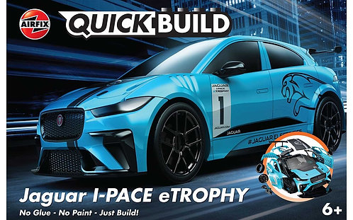 Airfix Quick-Build- Jaguar I-PACE eTROPHY