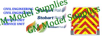 Transit SWB Conversion Kit- Stobart Rail
