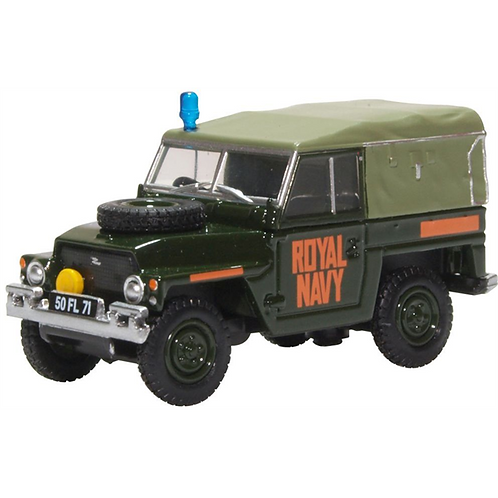 Oxford Diecast Land Rover Lightweight - Royal Navy Livery