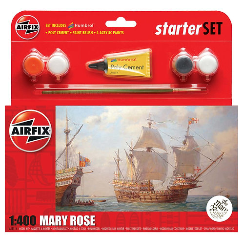 Airfix Starter Set - Mary Rose