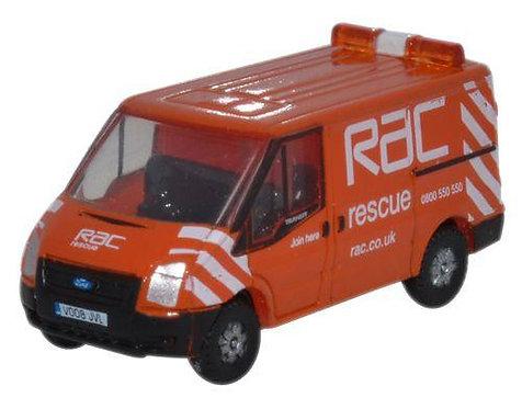 Oxford Diecast Ford Transit SWB L.Roof - RAC Livery