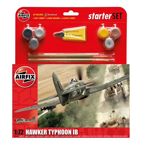 Airfix Medium Starter Set - Hawker Typhoon Mk1B