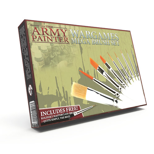 The Army Painter - Mega Brush Set