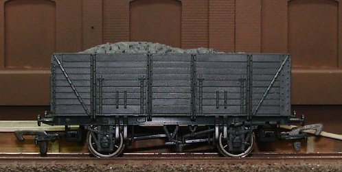 Dapol Unpainted Wagon - 9 Plank