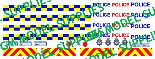 Transit SWB Conversion Kit- United Kingdom Police Livery